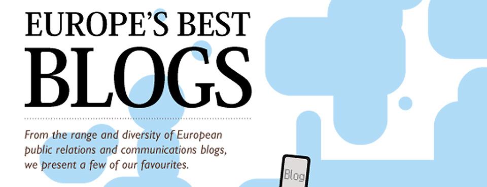 Los mejores blogs europeos de comunicación corporativa