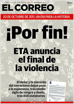 portada El Correo Vasco