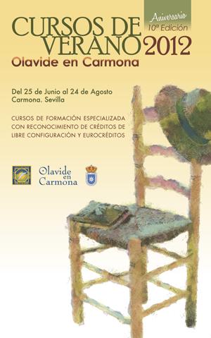 cartel Cursos UPO verano 2012