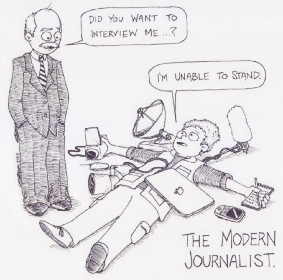 Esto no es periodismo 2.0