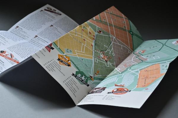 El mapa de Barcelona de Herb Lester Associates