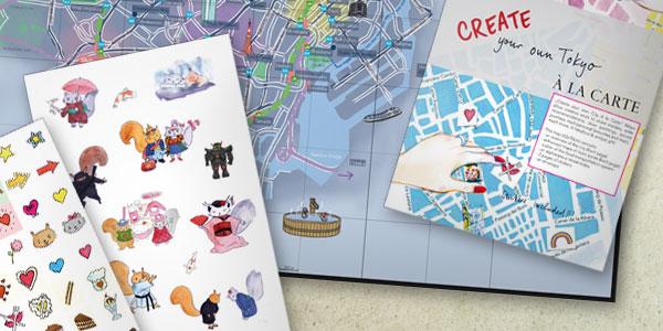 Tu propio mapa A la carte