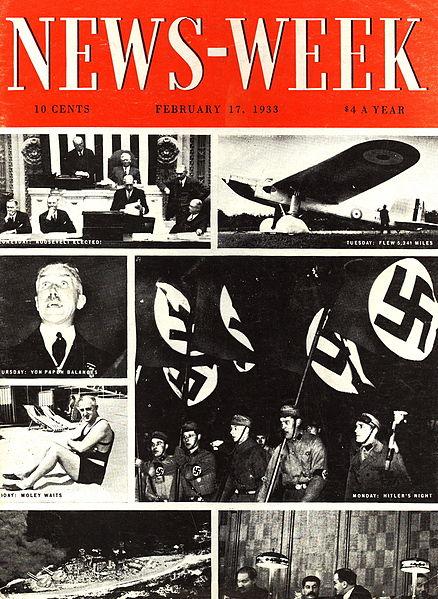 Portada del primer número de Newsweek