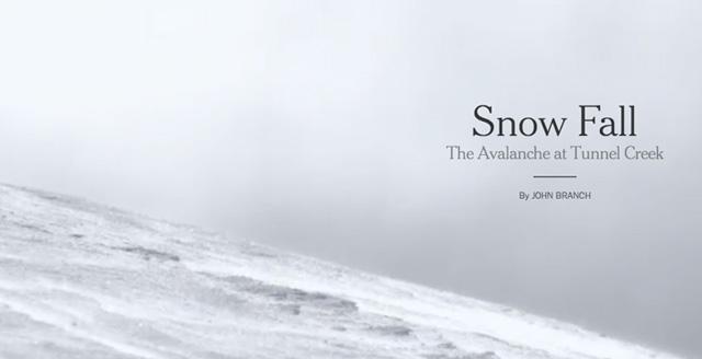 Snow Fall de The New York Times