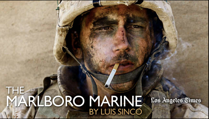 The Marlboro Marine en Los Angeles Times