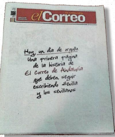 portada de la edición especial de El Correo de Andalucía