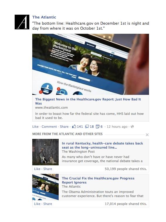 Noticias relacionadas en Facebook