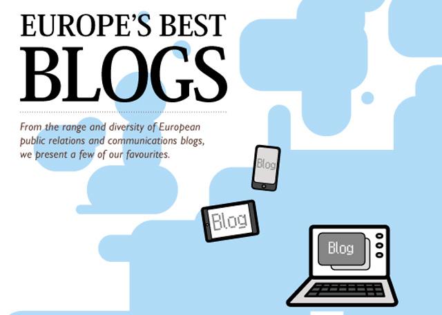 Lista de los mejores blogs europeos de comunicación corporativa