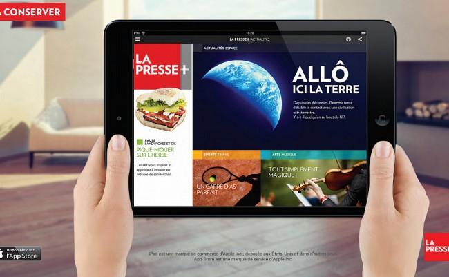 app lapresse+