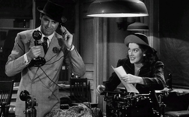 Fotograma de His Girl Friday de Howard Hawks