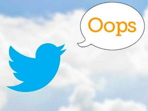 corregir errores en redes sociales