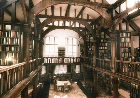 old_library_render_by_misterjl-d4qdd4n