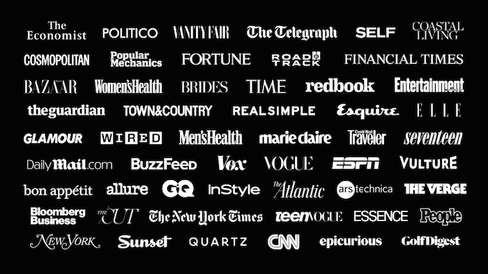medios presentes en News de iOS9