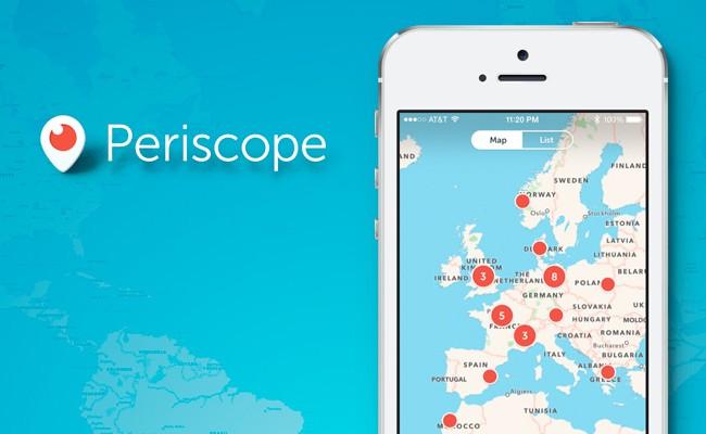 Cómo usar Periscope