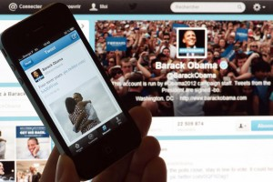 FRANCE-US-VOTE-2012-ELECTION-OBAMA-TWITTER