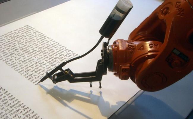 robot periodista