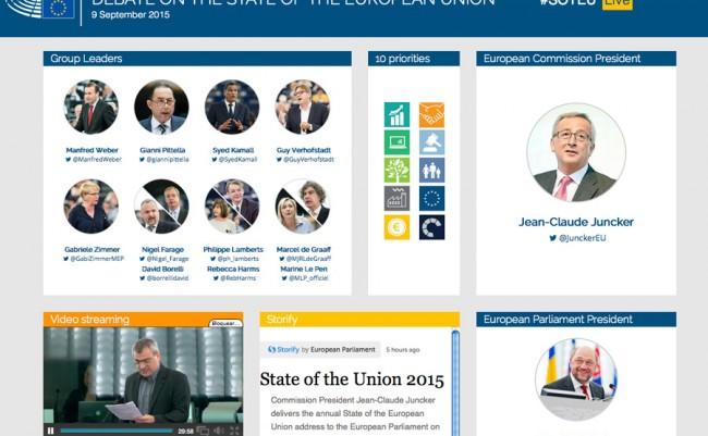 comunicación política en la UE