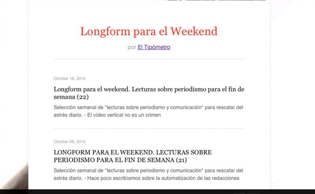 newslettereltipometro